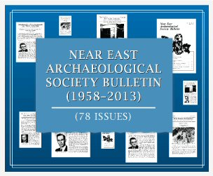 Near East Archaeological Society Bulletin (1958–2013) (78 issues)