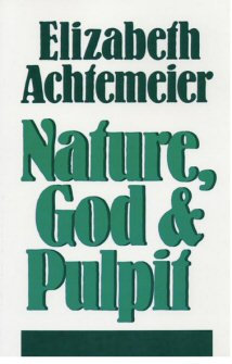 Nature, God, and Pulpit