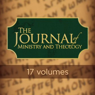 Journal of Ministry and Theology (17 vols.) (1997–2013)