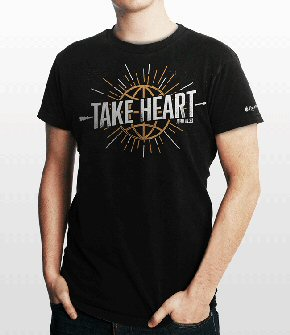 Bible Verse T-shirt: John 16:33