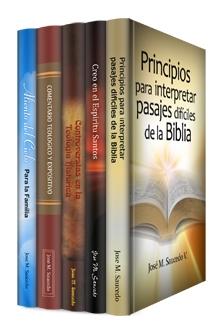 Teólogos Hispanos: José Saucedo (5 vols.)