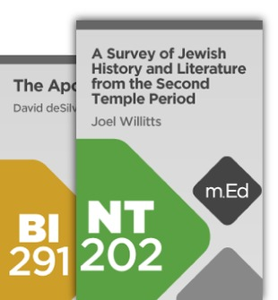 Mobile Ed: Between the Testaments Bundle (2 courses)