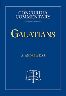Concordia Commentary: Galatians