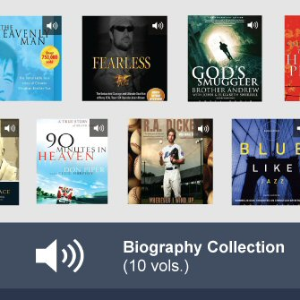Audiobook Biography Collection (10 vols.)