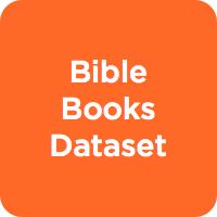 Bible Books Dataset