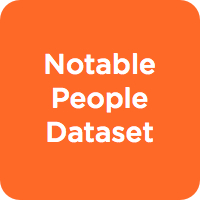 Notable People Dataset