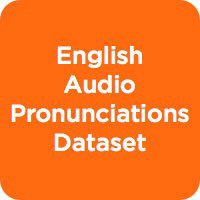 English Audio Pronunciations Dataset