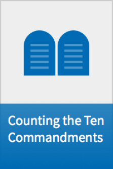 Counting the Ten Commandments