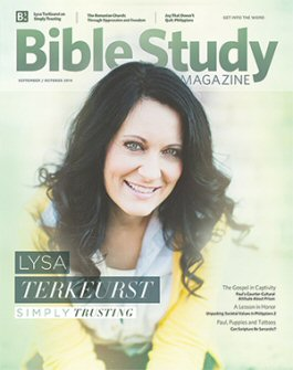 Bible Study Magazine—September–October 2014 Issue