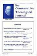 Conservative Theological Journal (7 vols.)