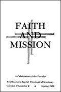 Faith and Mission (23 vols.)