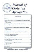 Journal of Christian Apologetics (2 vols.)