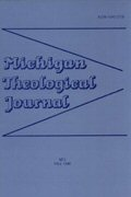Michigan Theological Journal (5 vols.)