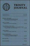 Trinity Journal (27 vols.)