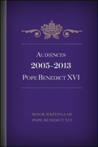 Audiences of Pope Benedict XVI (English)