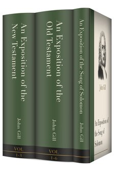 The Expositions of John Gill (3 vols.)