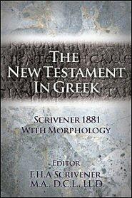 The New Testament in Greek (Scrivener 1881)