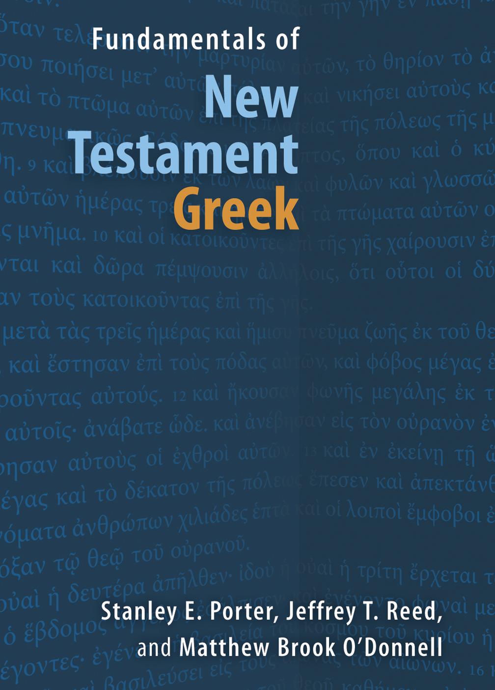 Fundamentals of New Testament Greek