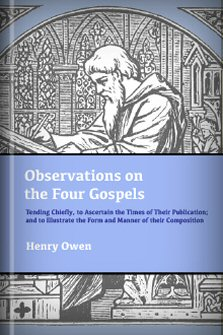 Observations on the Four Gospels