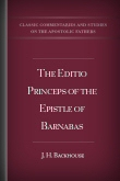 The Editio Princeps of the Epistle of Barnabas