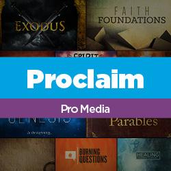 Proclaim Pro Media Subscription