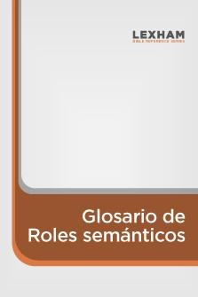 Glosario de Roles semánticos