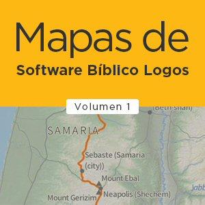 Mapas de Software Bíblico Logos - Volumen I