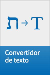 Convertidor de texto