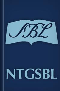 El Nuevo Testamento griego: Edición SBL