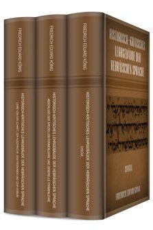 Historisch-Kritisches Lehrgebäude der Hebräischen Sprache (3 Bände)