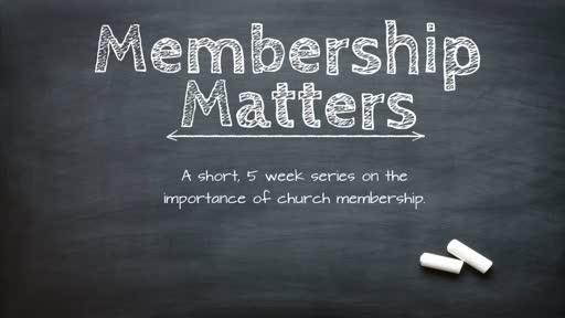 Part 3 - Worship Together & Treasure Membership as a Gift