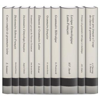 Les outils grammaticaux (10 tomes)