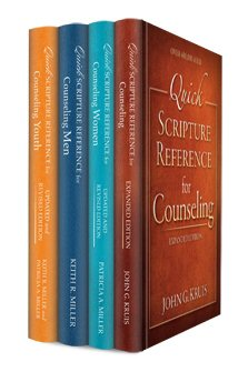 Quick Scripture Reference for Counseling Collection (4 vols.)