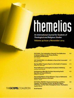 Themelios: vol. 39 no. 3, November 2014