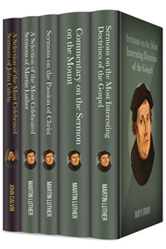 John Calvin and Martin Luther Sermon Collection (5 vols.)