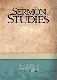 Sermon Studies on the Old Testament: ILCW Series B