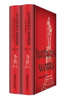 Luther's Works Upgrade 3 (2 vols.)