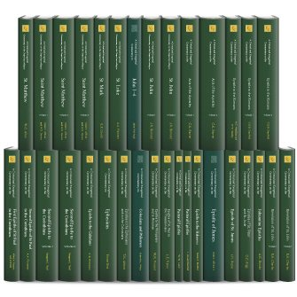 International Critical Commentary New Testament (ICC) (33 vols.)