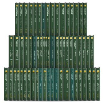 International Critical Commentary Series (ICC) (61 vols.)