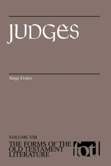 The Forms of the Old Testament Literature: Judges