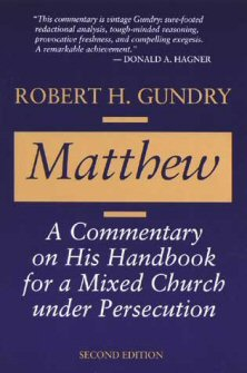 Matthew: A Commentary on His Handbook for a Mixed Church under Persecution, 2nd ed.