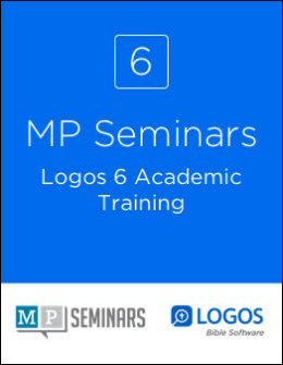 MP Seminars: Logos 6 Academic Training