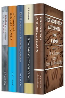Wipf & Stock D.A. Carson Collection (5 vols.)