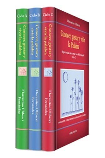 Conocer, Gustar y Vivir la Palabra (3 vols.)