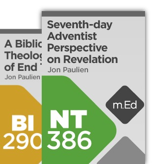Mobile Ed: Jon Paulien Biblical Eschatology Bundle (2 courses)
