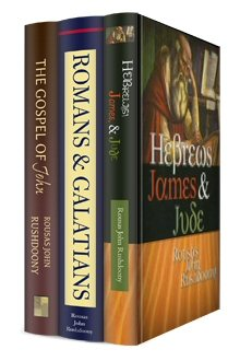 Rushdoony New Testament Commentary Collection (3 vols.)