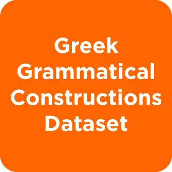 Greek Grammatical Constructions Dataset