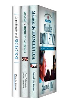 Manual de homilética y predicación (3 vols)