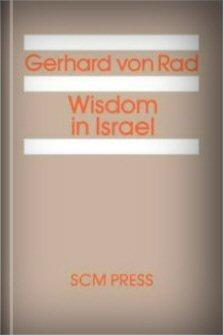Wisdom in Israel