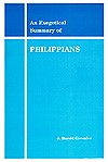 An Exegetical Summary Of Philippians